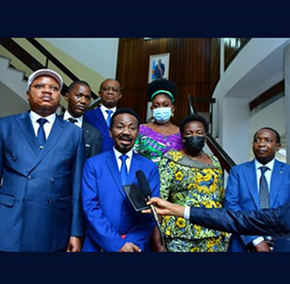 Le nouveau bureau de la Chambre basse reçu par le Président de la République