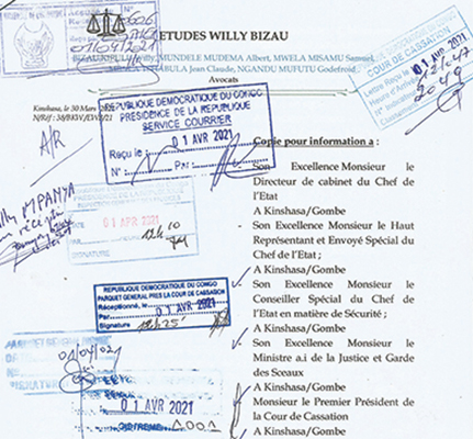 Une lettre alerte rouge dénonce la mafia au FPI