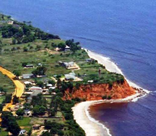Les cités de Muanda et de Banana sur la côte menacées par la remontée des eaux