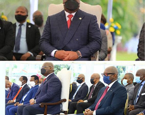 Quand le Président se rend au culte des 100 jours de l'équipe Sama, c'est signe qu'il affiche la cohésion