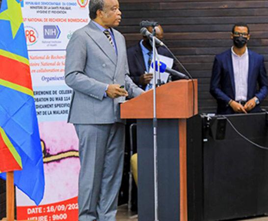 Avec Ebanga anti-Ebola, Muyembe marque son territoire